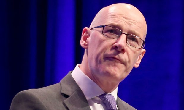 Deputy First Minister John Swinney (Jane Barlow/PA Wire)