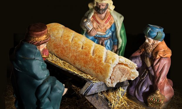 The picture used in promotion for the new Greggs advert calendar (Taylor Herring/Greggs/PA Wire)