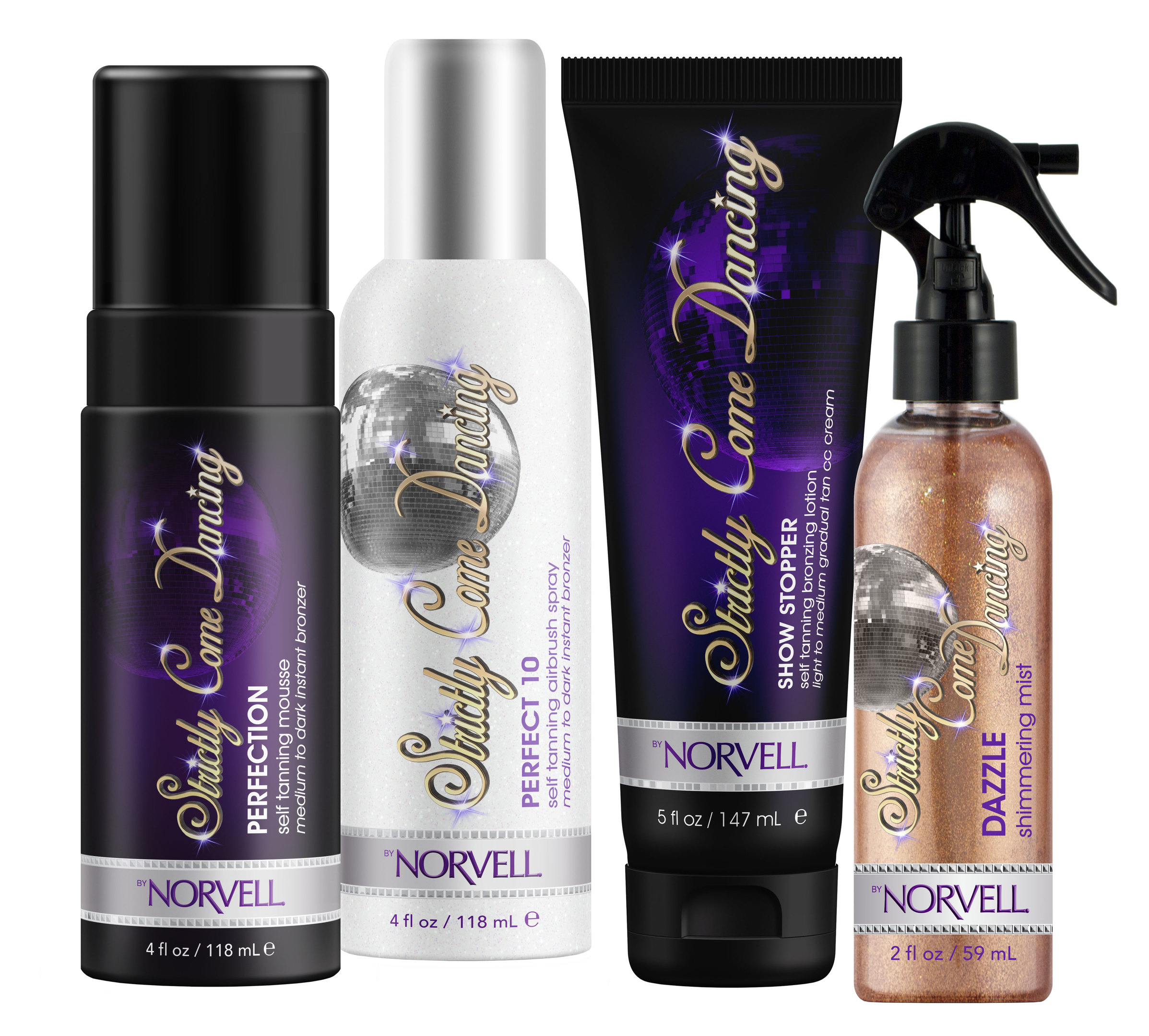 Strictly Come Dancing Sunless Collection (Norvell)