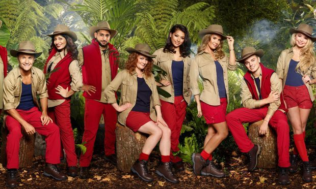 The I'm a Celebrity... Get Me Out of Here line up (left-right) Stanley Johnson, Dennis Wise, Shappi Khorsandi, Amir Khan, Jennie McAlpine, Vanessa White, Rebekah Vardy, Jack Maynard, Georgia Toffolo and Jamie Lomas (ITV/PA Wire)