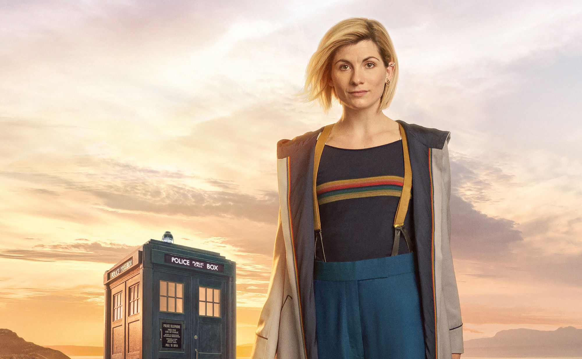 Jodie Whittaker as Doctor Who (Steve Schofield/BBC/PA Wire)