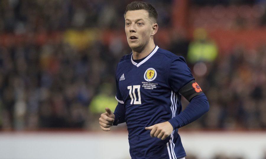 Callum McGregor in action for Scotland (SNS Group / Craig Foy)