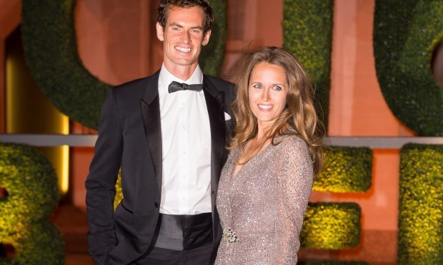 Sir Andy Murray and his wife Kim, who has given birth to their second daughter (Dominic Lipinski/PA Wire)