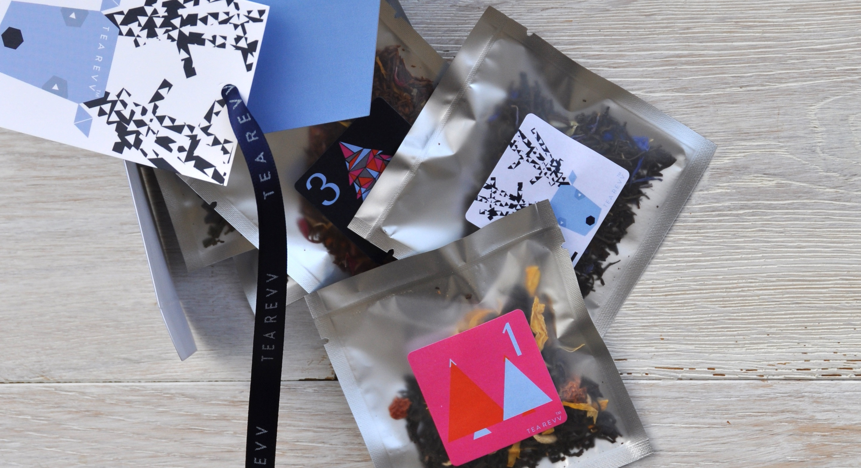 Christmas advent calendar tea sachets (Tea Revv)