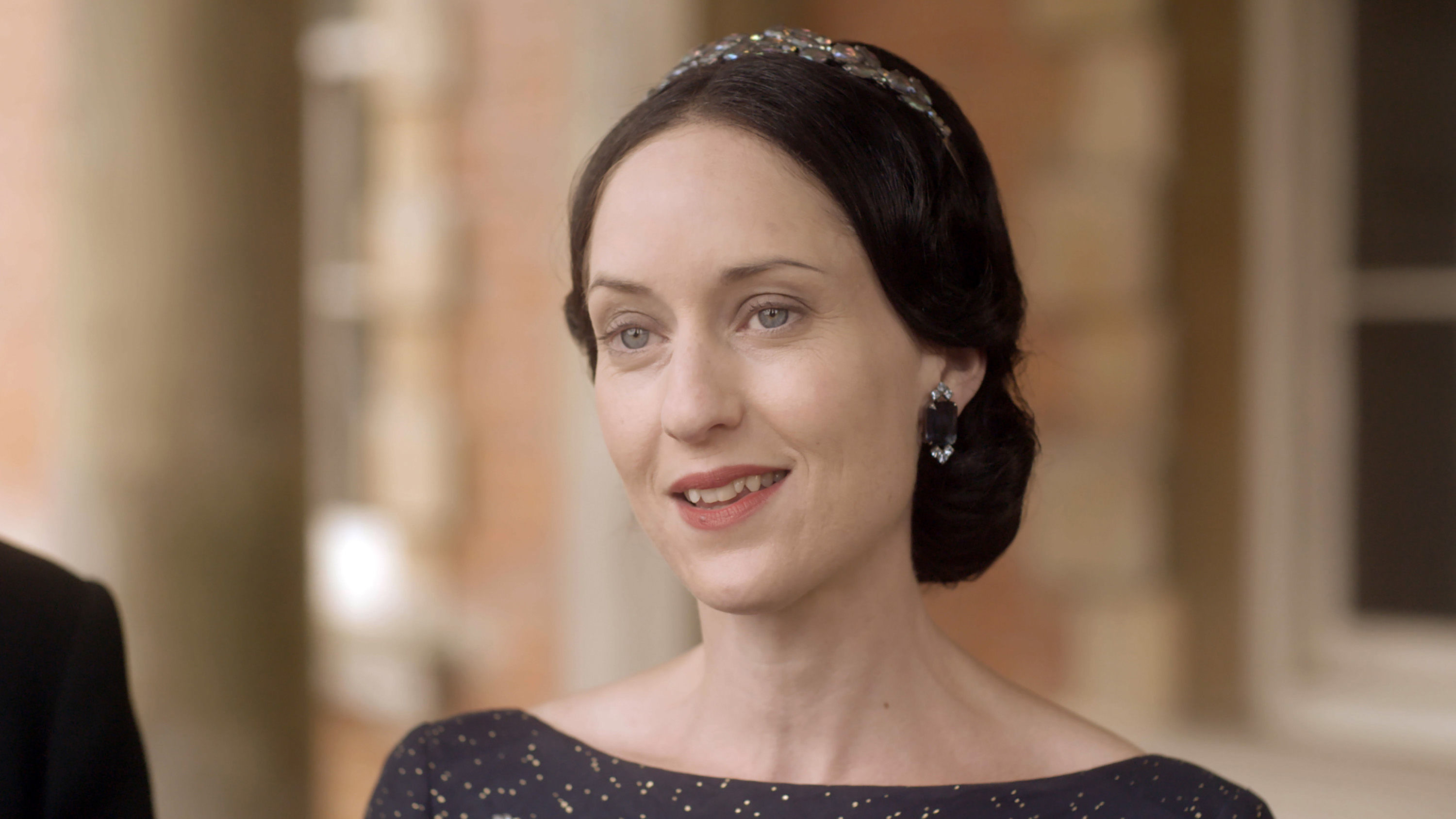 Georgina Rich as Wallis Simpson in the new Channel 5 show