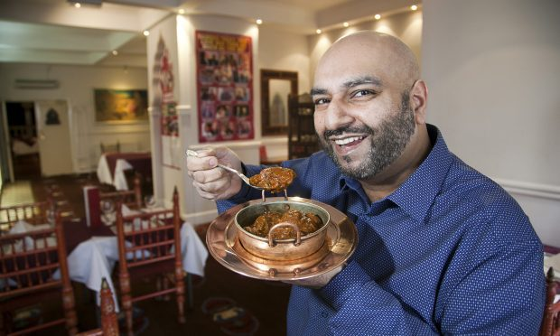 Waseem Tahir, owner of The Koh-I-Noor and author of a book about curries called The Full Bhoona (Alistair Linford)