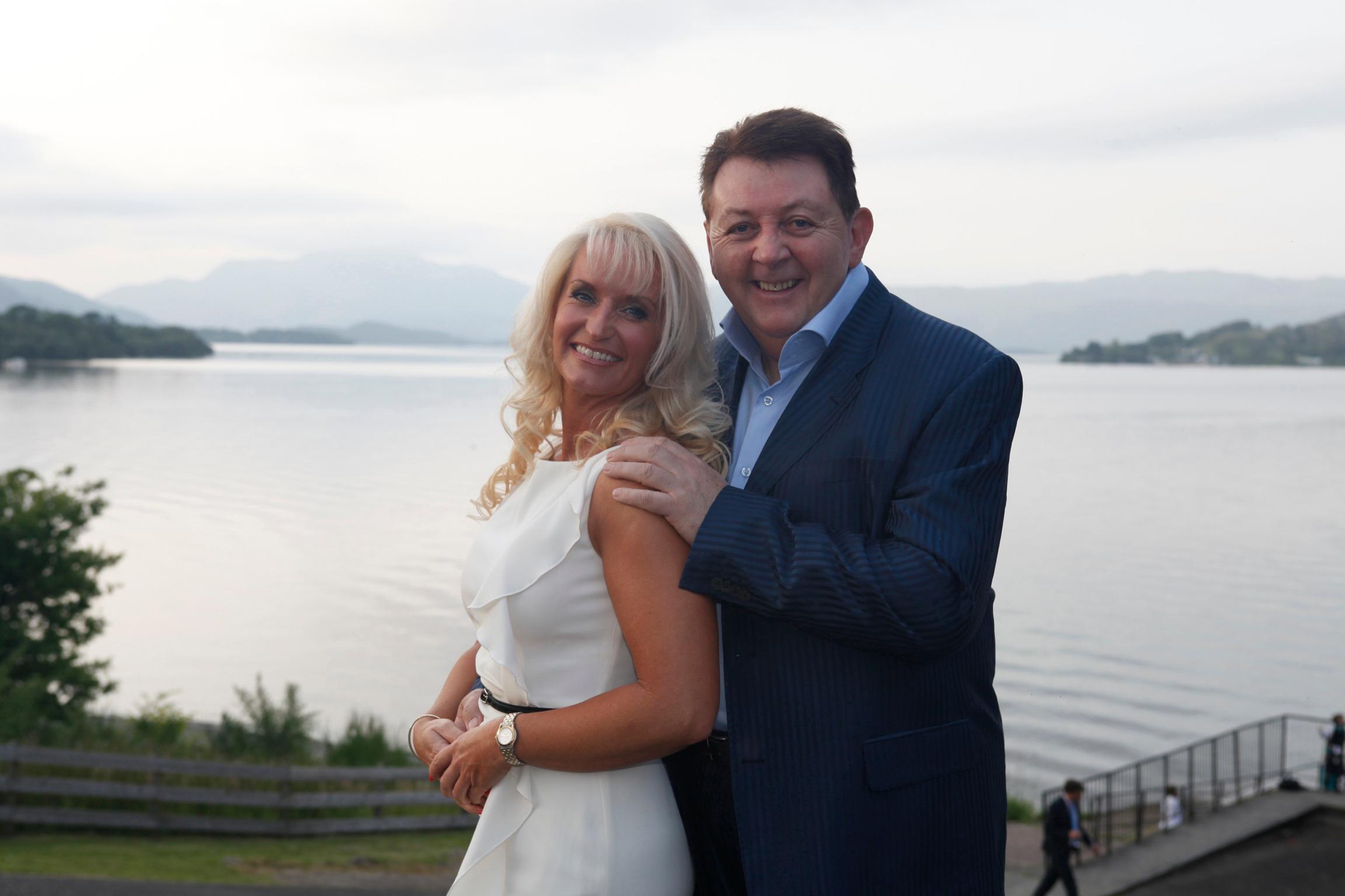 Dean Park and his new bride Karen