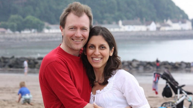 Richard Ratcliffe and wife Nazanin Zaghari-Ratcliffe