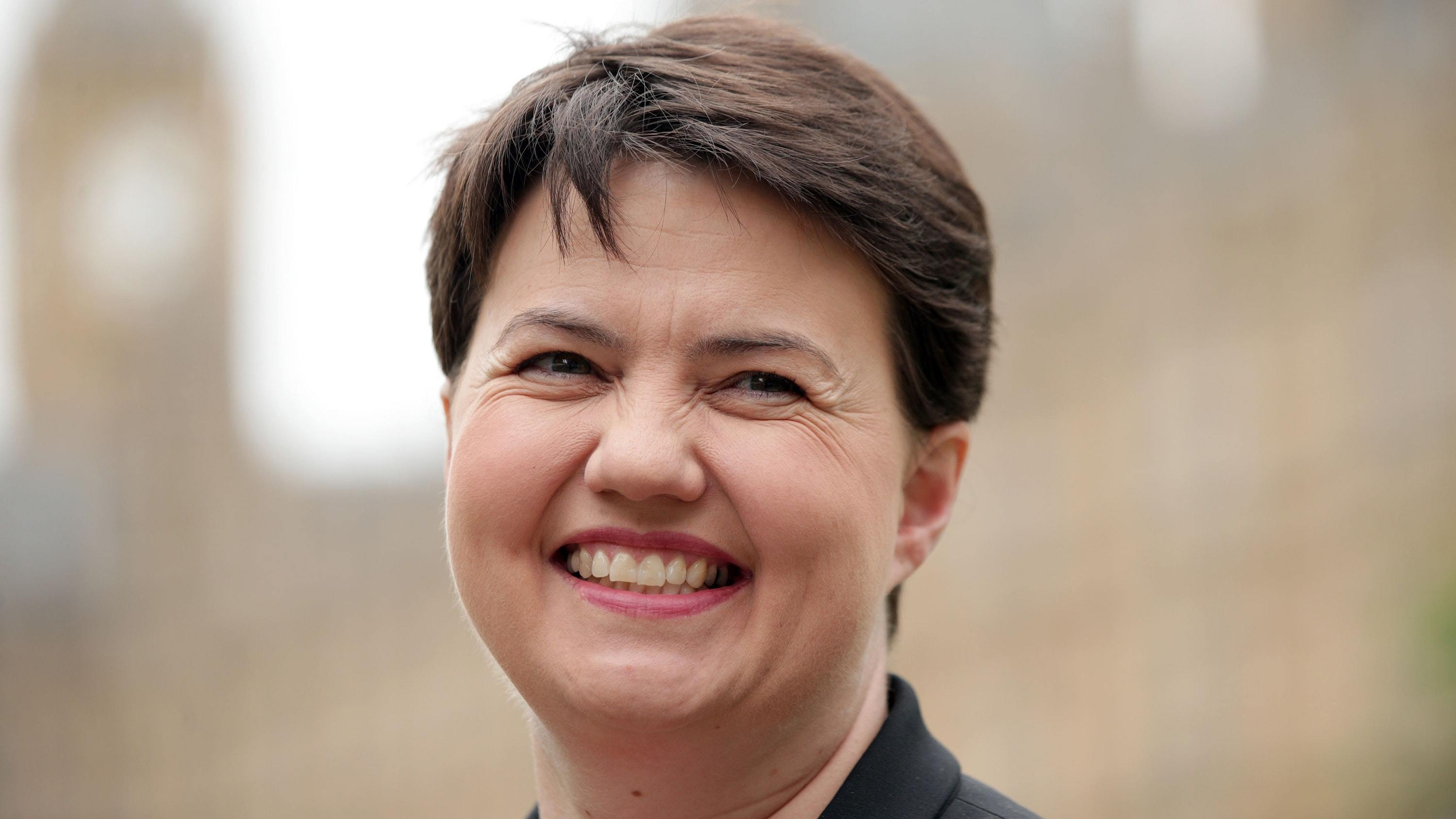 Ruth Davidson became the first Tory to win Scottish Politician of the Year in 2016 (Yui Mok/PA)