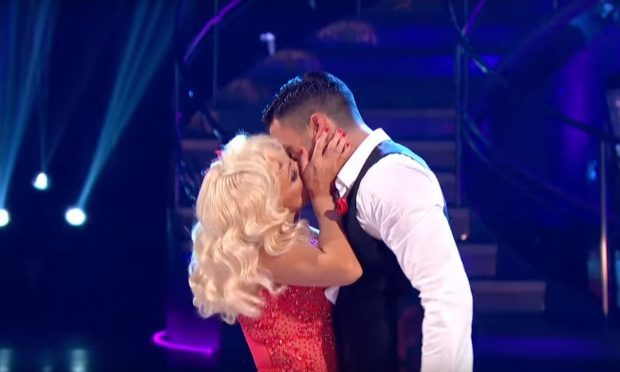 Strictly Come Dancing's Debbie McGee and Giovanni Pernice (Strictly Come Dancing YouTube/BBC)