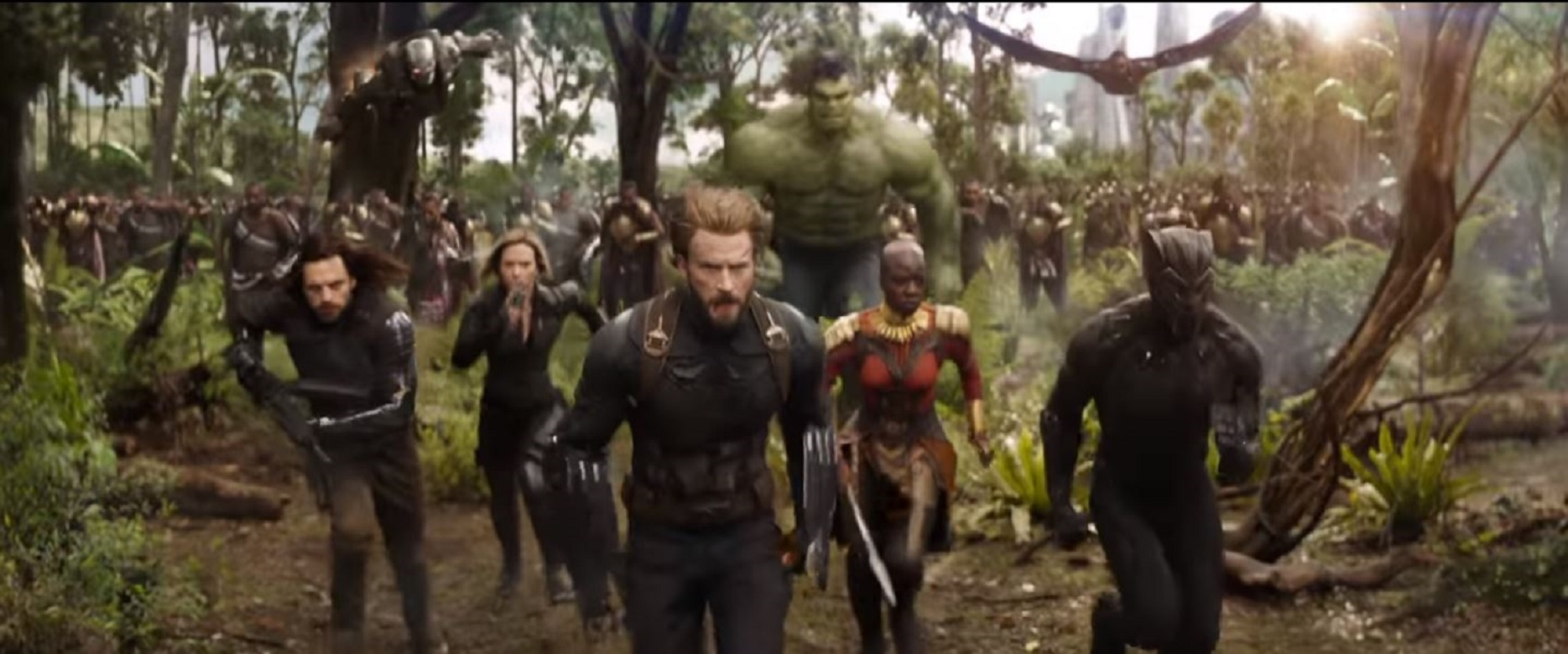 Avengers: Infinity War has been described as an 'unprecedented cinematic journey 10 years in the making' (Marvel Entertainment YouTube grab)