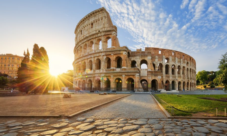 View of Colosseum in Rome (iStock)