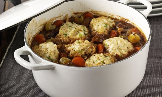 Beef and beer casserole (Tracklements)