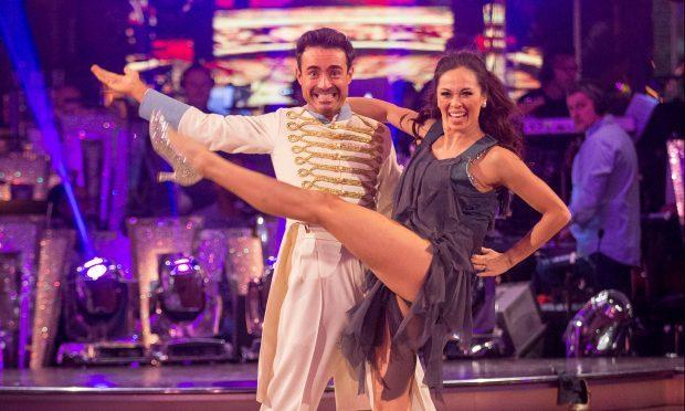 Strictly Come Dancing: Katya Jones, Joe McFadden - (BBC. Guy Levy)