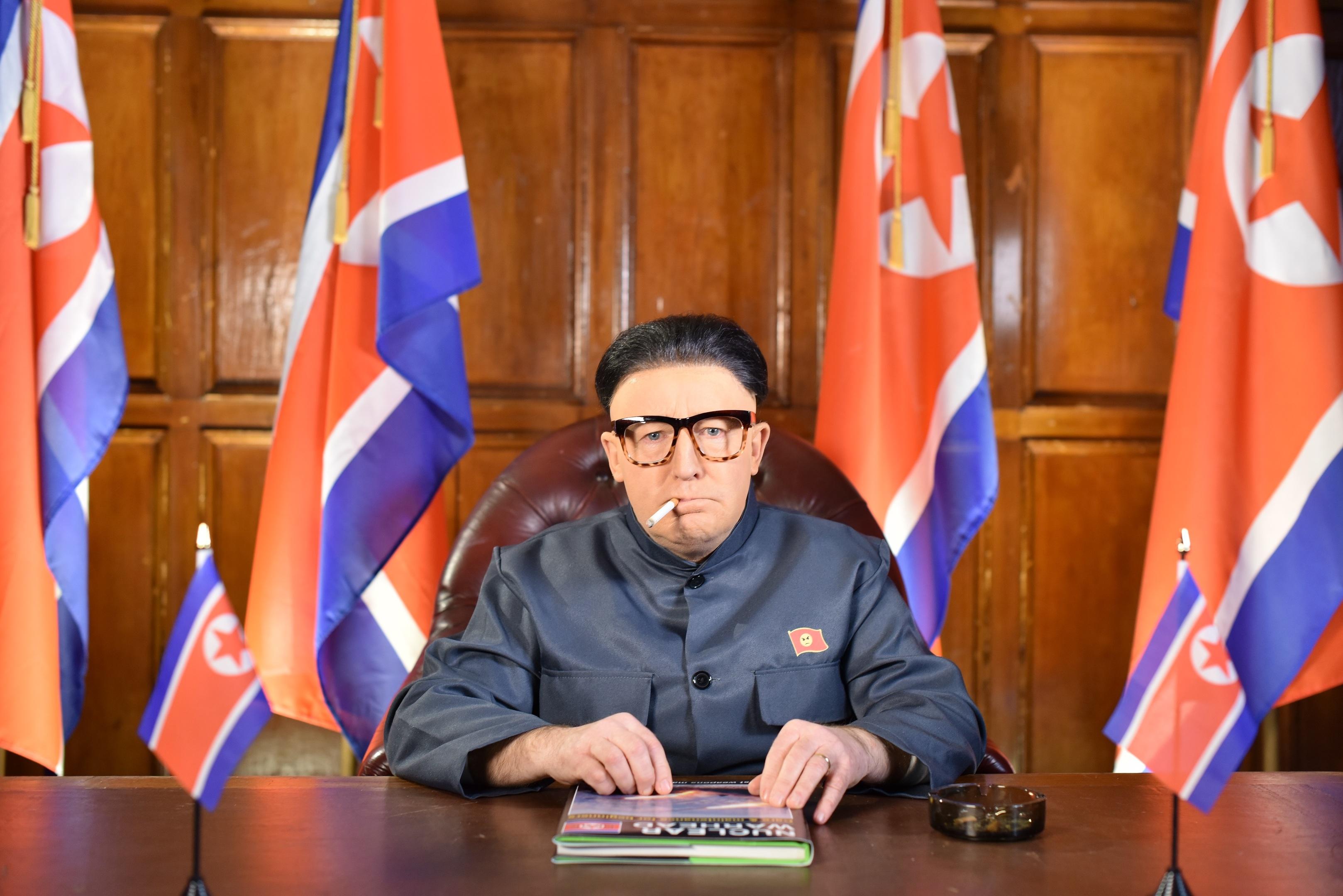 Jonathan Watson as Kim Jong-un (BBC/Comedy Unit /Alan Peebles)