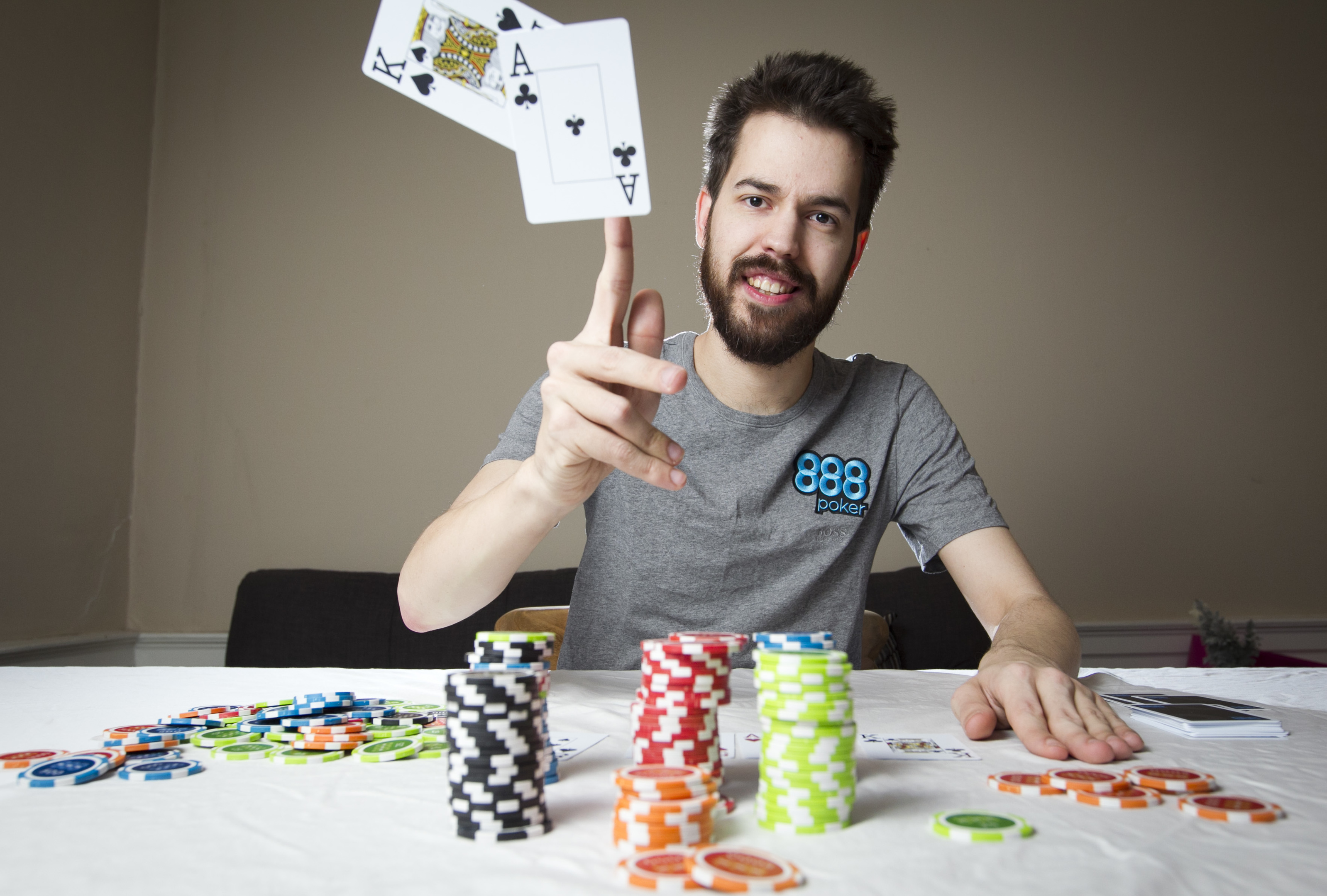 Poker player Dominik Nitsche has had several bank-busting victories (Andrew Cawley / DC Thomson)