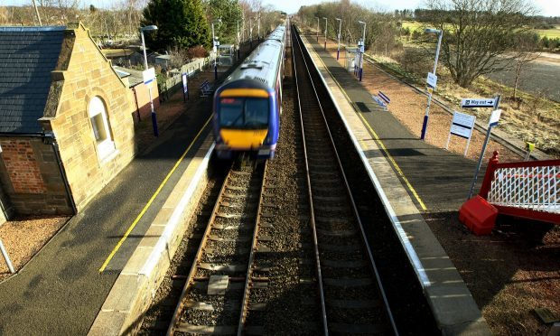 Barry Links station, near Carnoustie, is the quietest in the UK (Dougie Nicholson / DC Thomson)