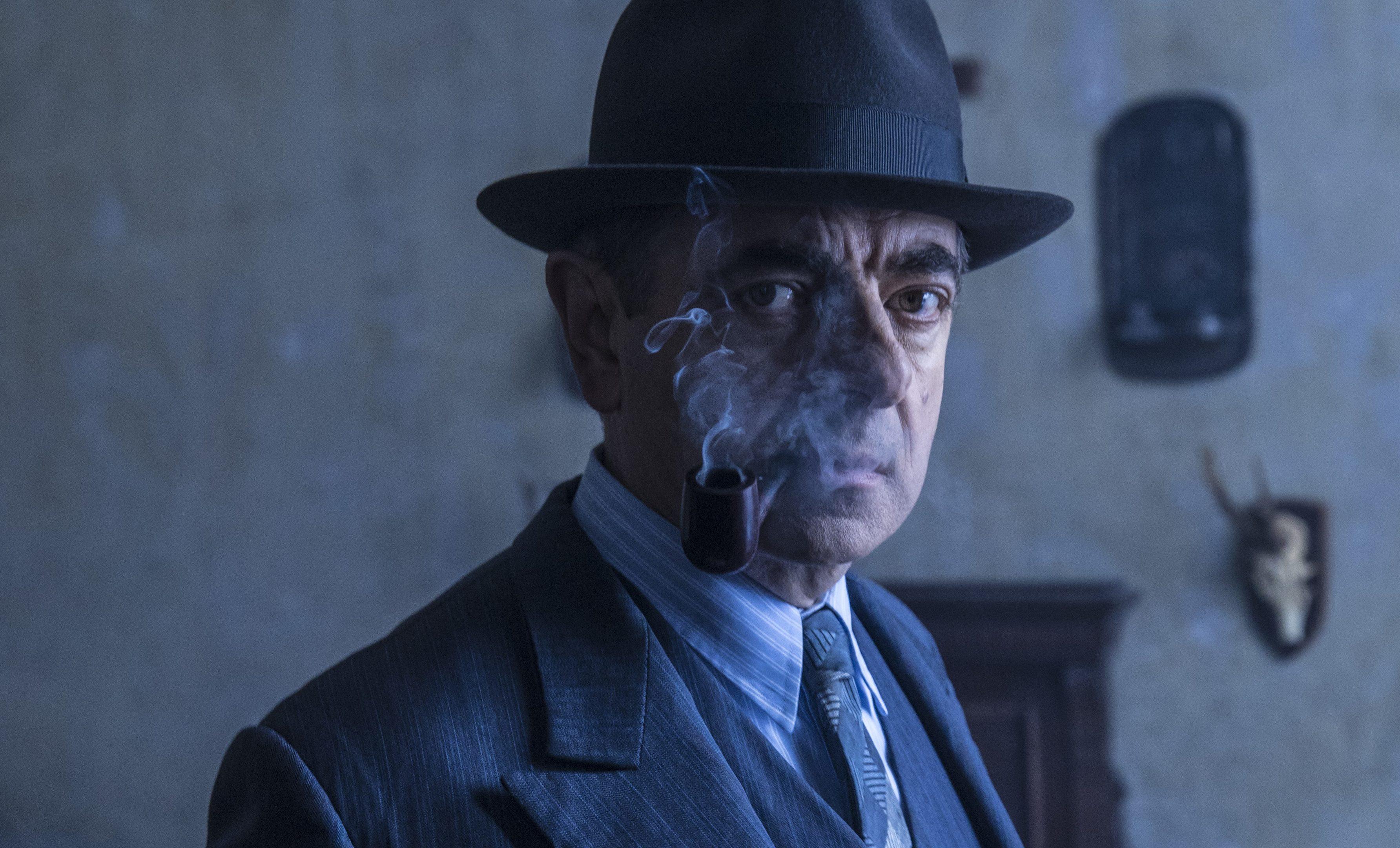 Rowan Atkinson as Maigret (Colin Hutton / ITV)
