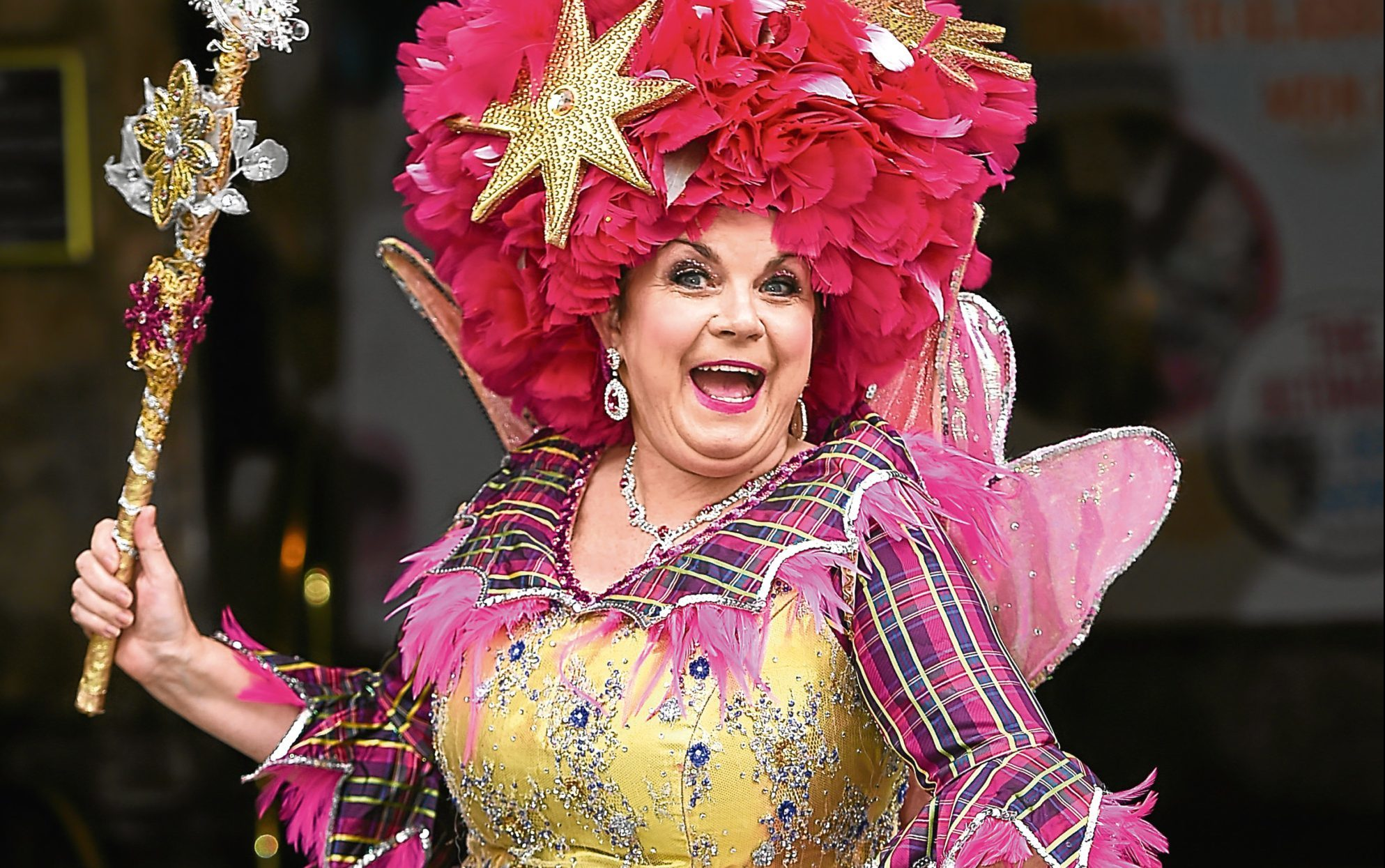 Elaine C Smith stars in this year's pantomime, Sleeping Beauty