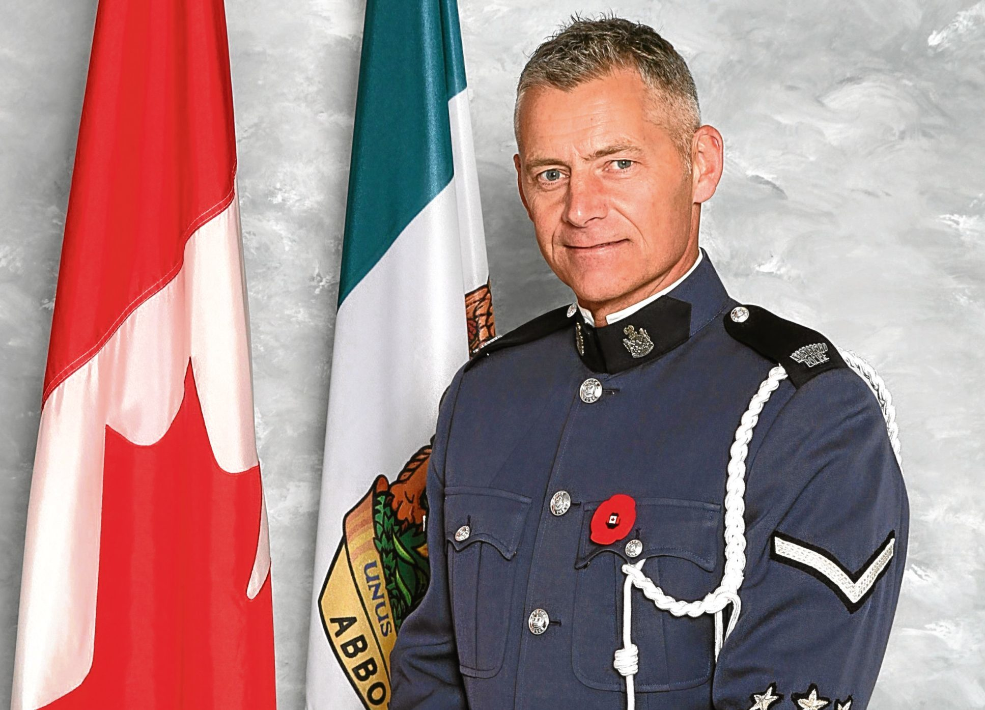 PC John Davidson, 53, a former British police officer who was shot dead while serving in Canada. (Abbotsford Police Department/PA Wire)