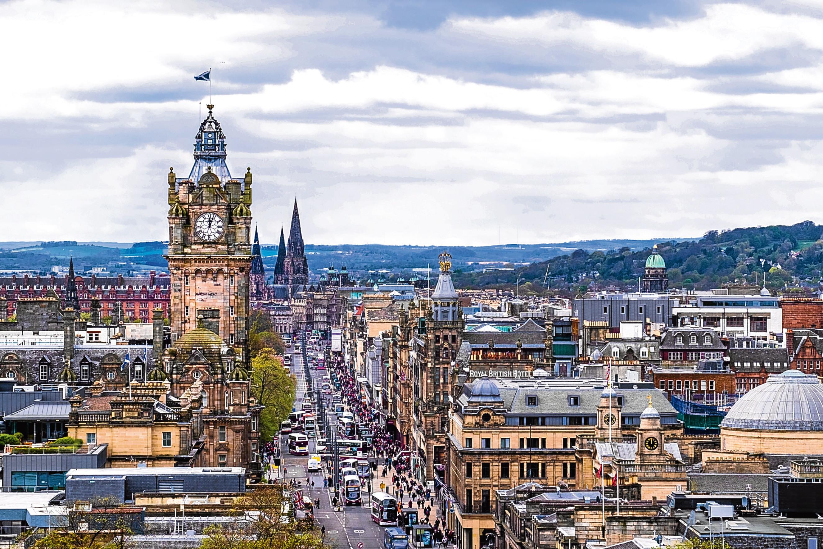 Edinburgh city, Scotland (iStock)