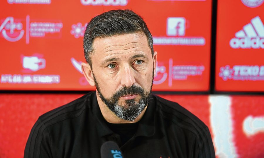 Aberdeen boss Derek McInnes hits out at Rangers over manager search