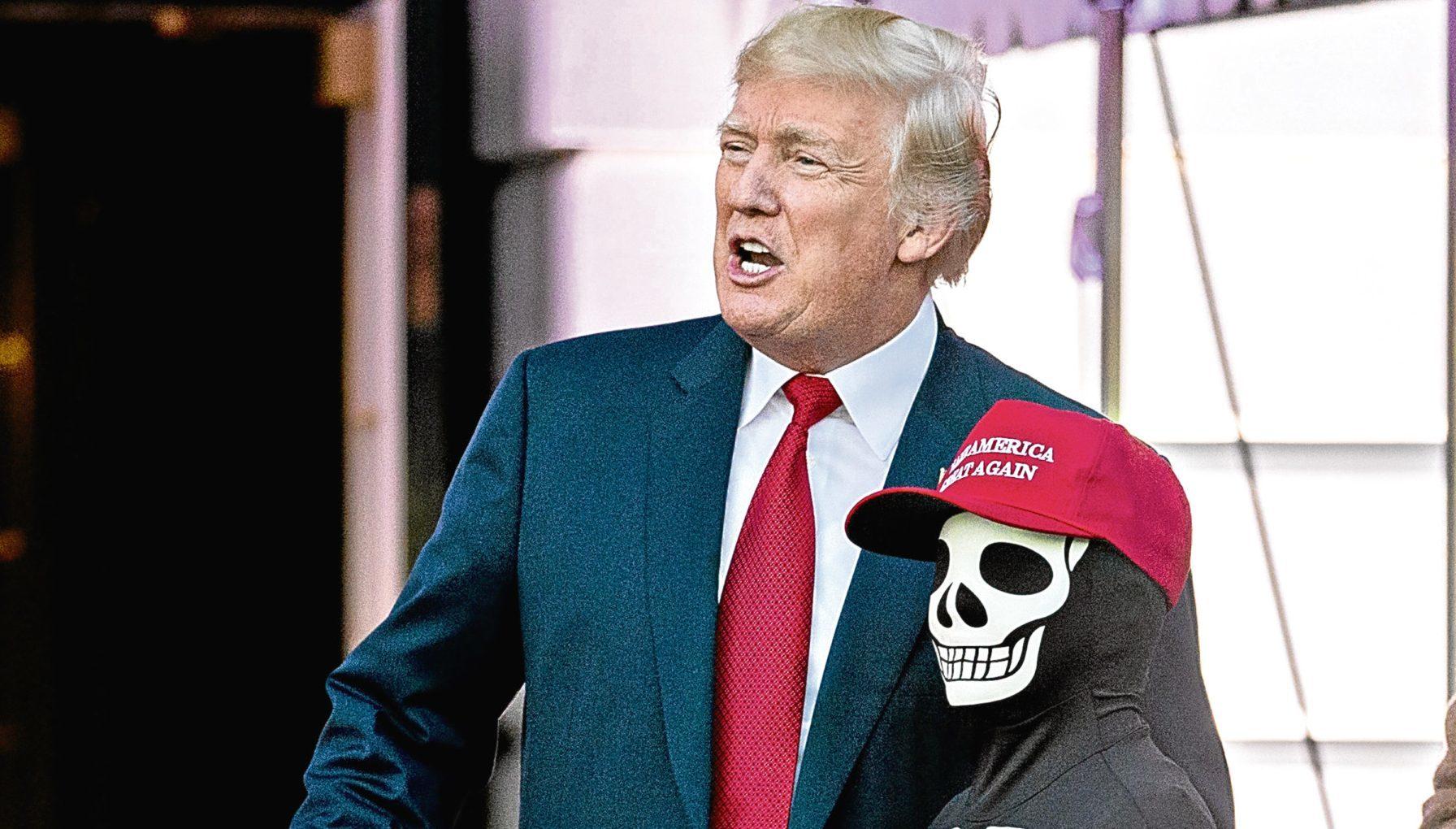 U.S. President Donald Trump (Andrew Harrer/Bloomberg via Getty Images)