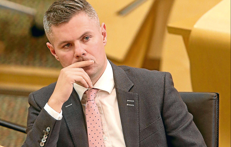 Derek Mackay MSP, Scotland's Finance Secretary (Fraser Bremner)