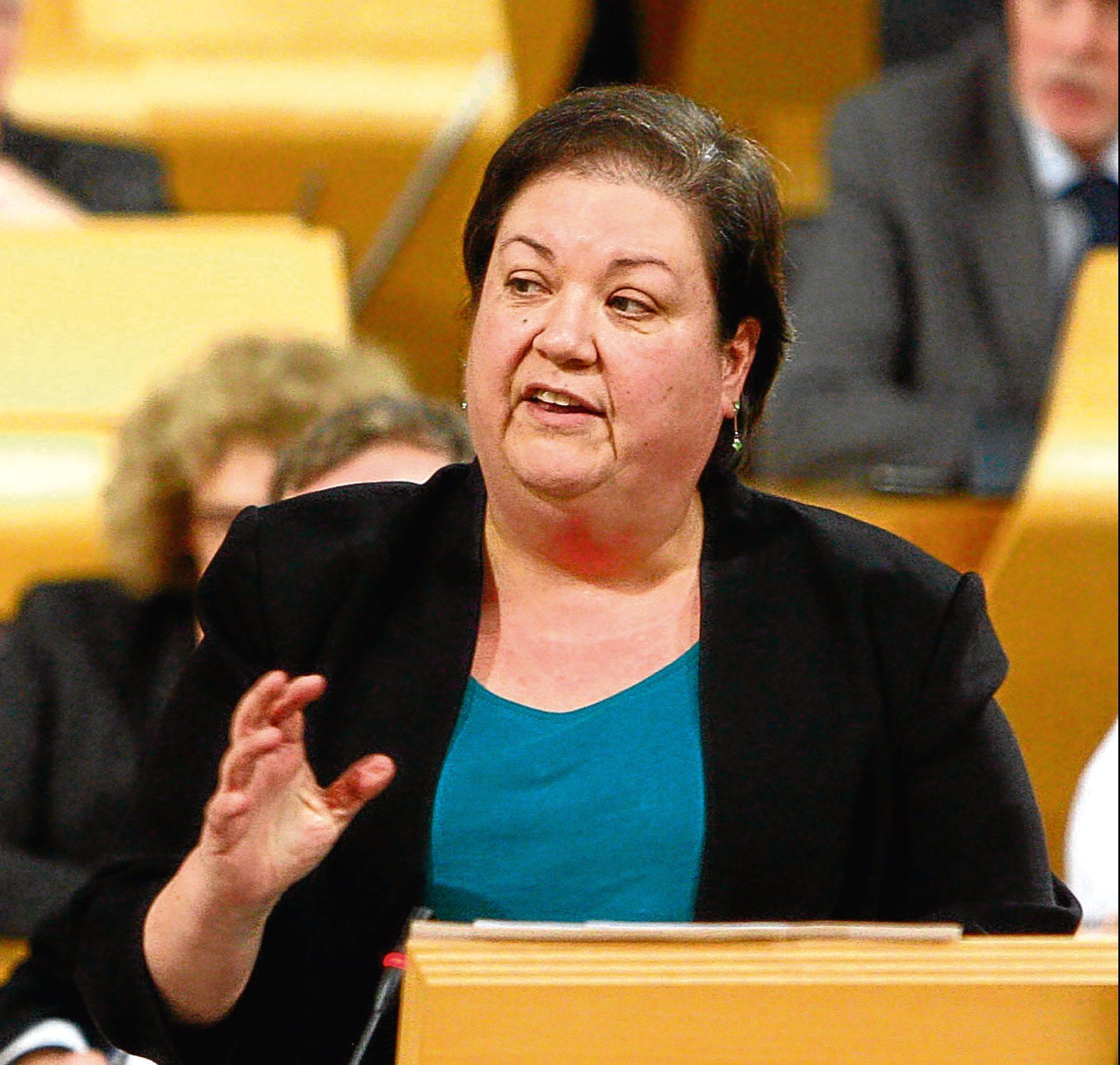Jackie Baillie MSP (Andrew Cowan/Scottish Parliament)