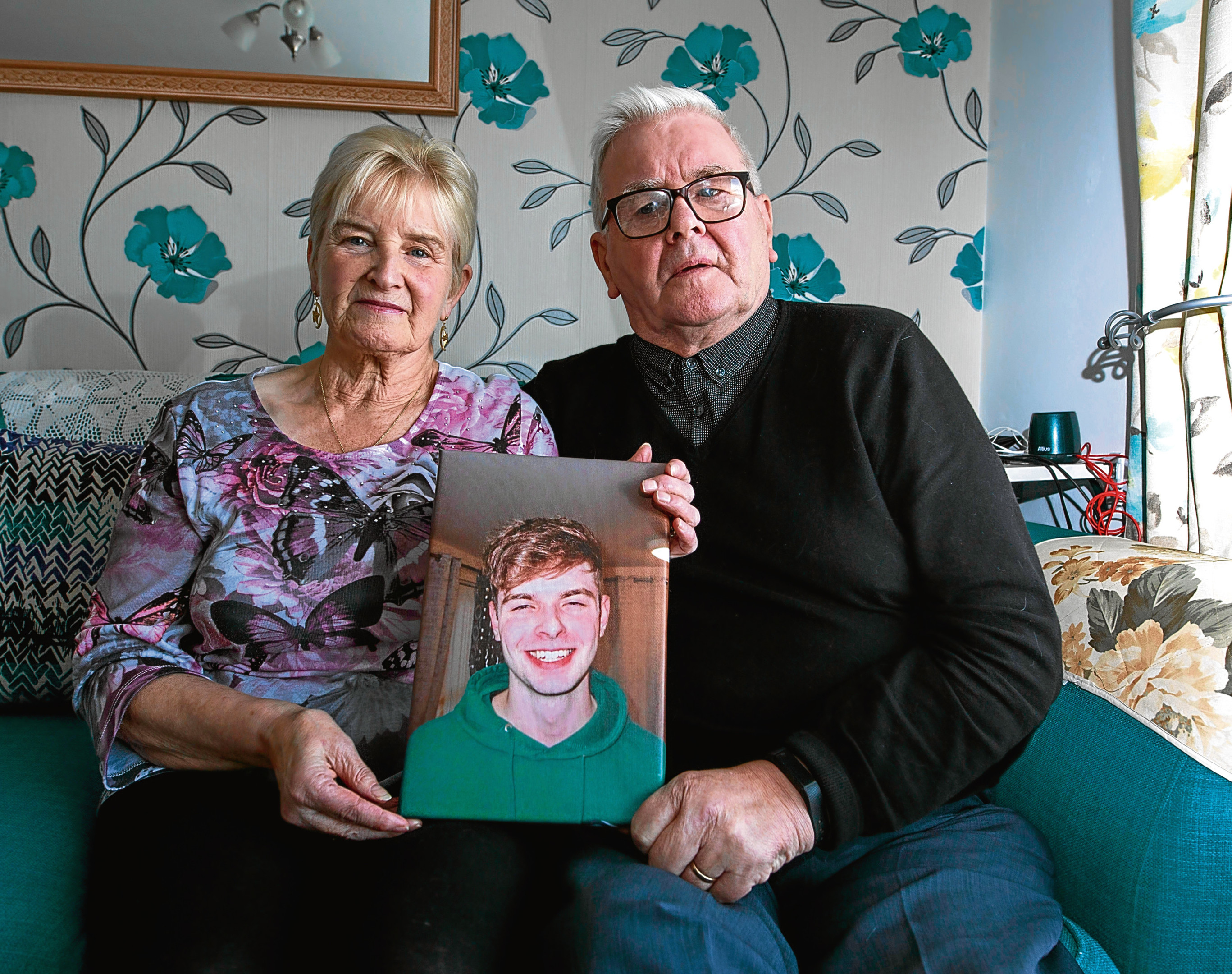 Missing Tom Keenan-Grandparents Tommy and Margaret (Alan Simpson)