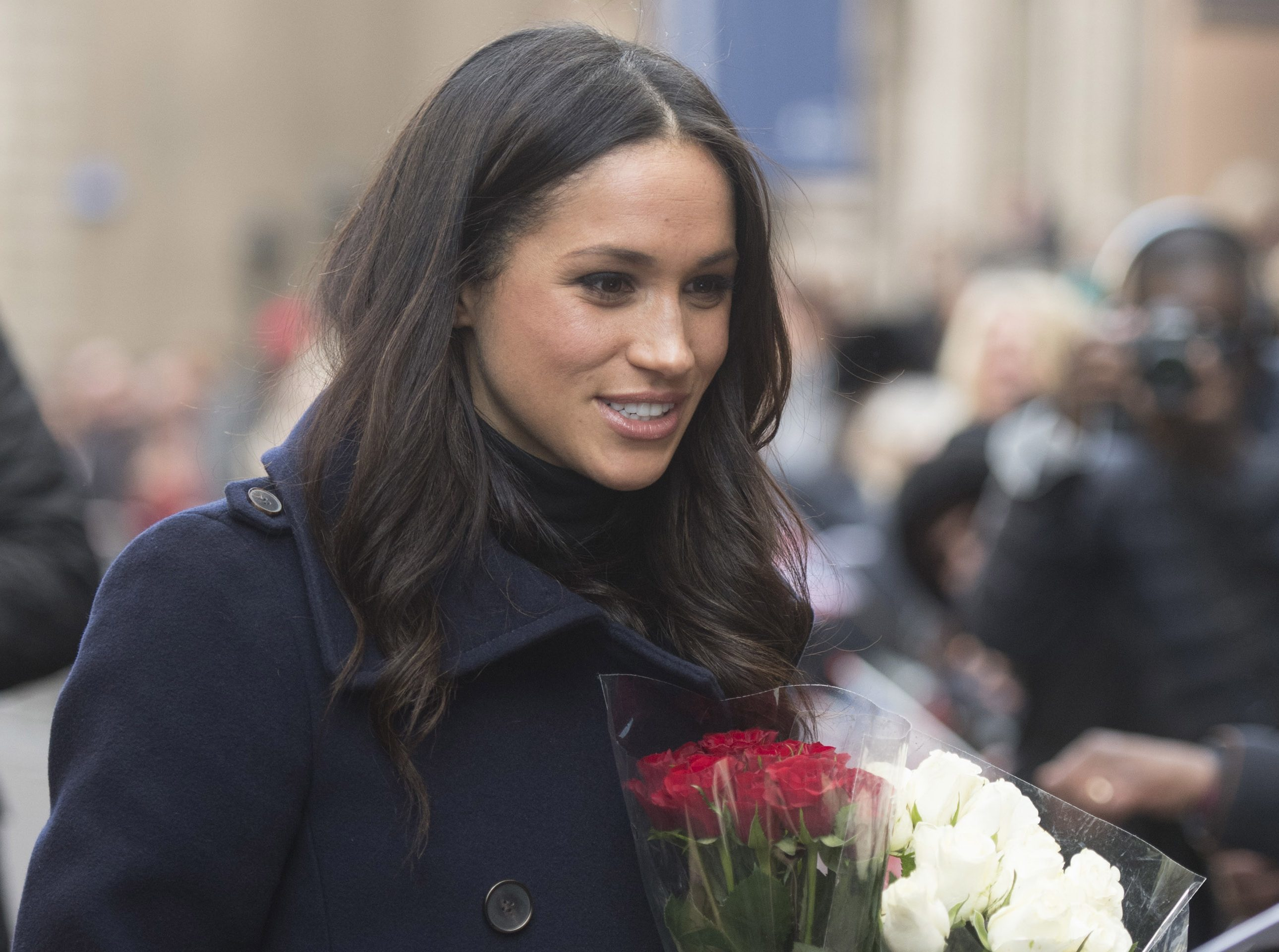 Meghan Markle (Jeremy Selwyn - WPA Pool/Getty Images)