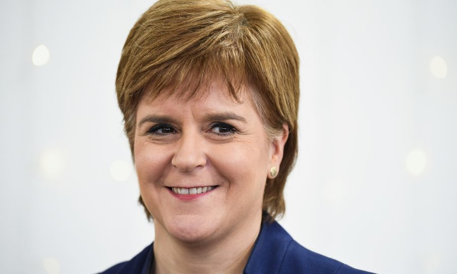 Scottish First Minister Nicola Sturgeon (Jeff J Mitchell - WPA Pool/Getty Images)