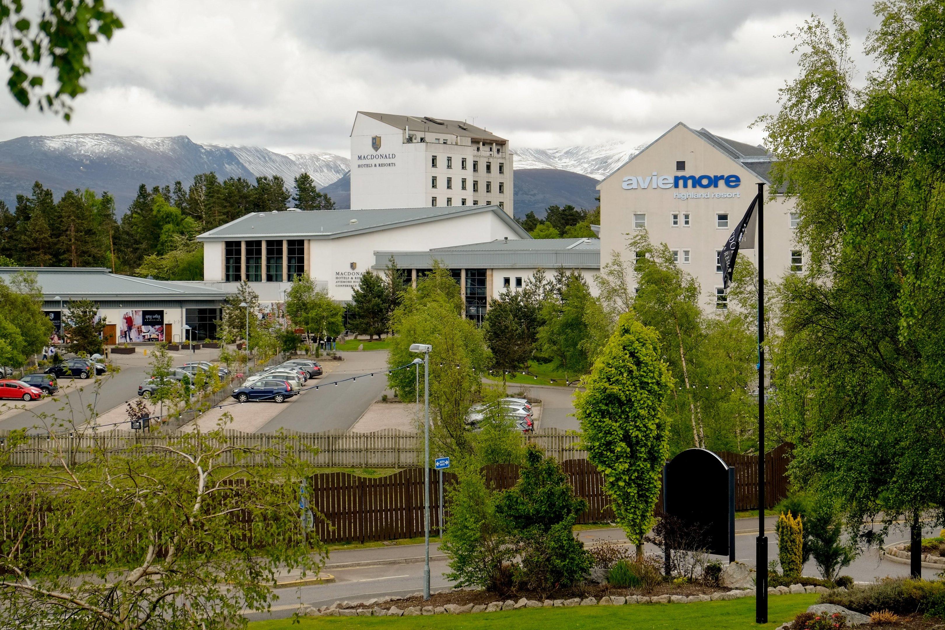 Aviemore Resort Exterior