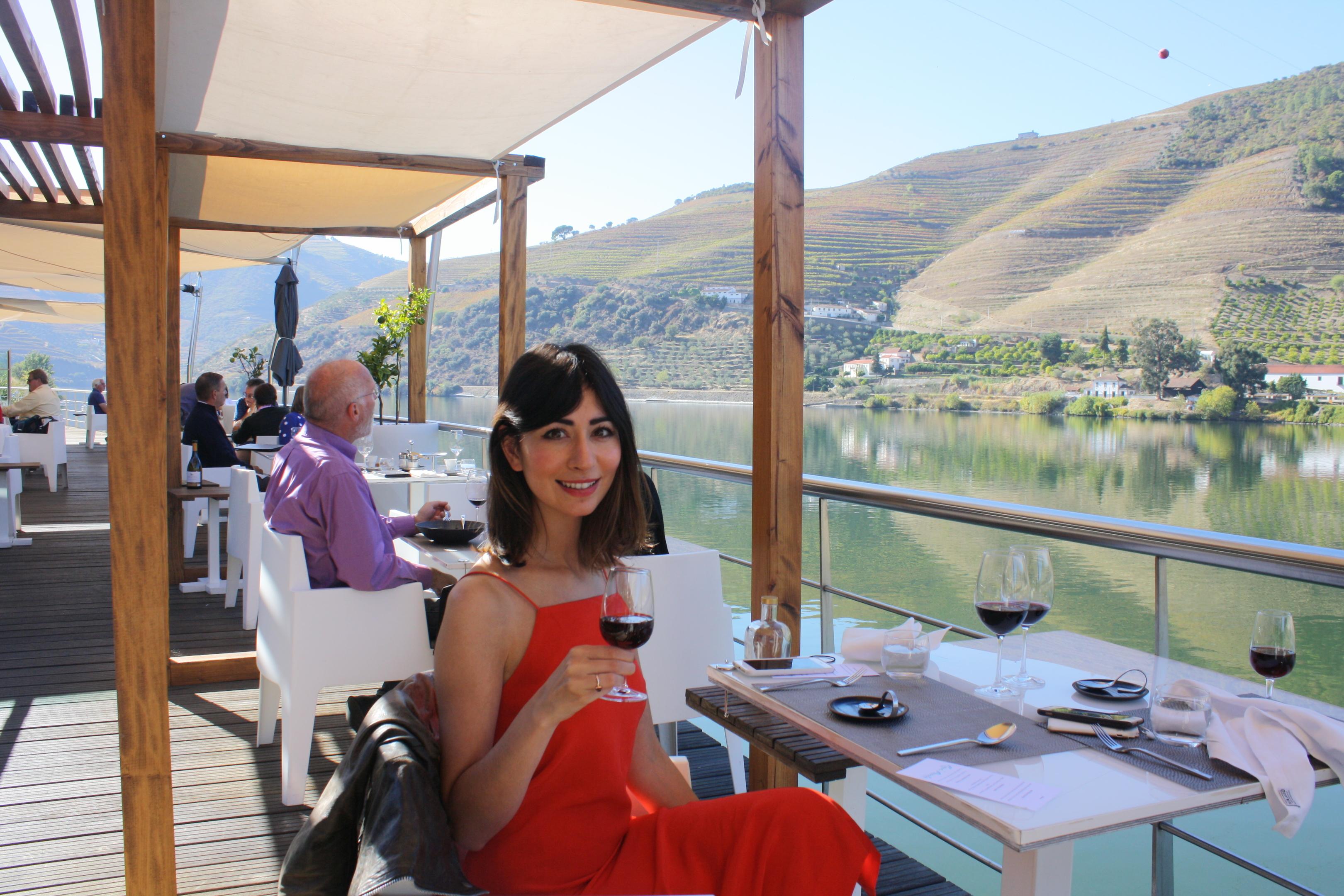 Writer Natasha enjoying Portugal