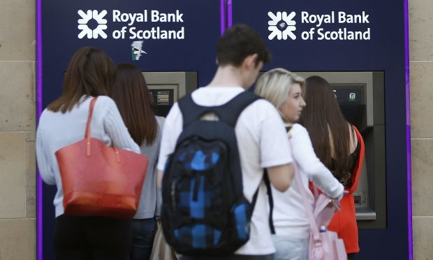 Royal Bank of Scotland ATM machines (PA)
