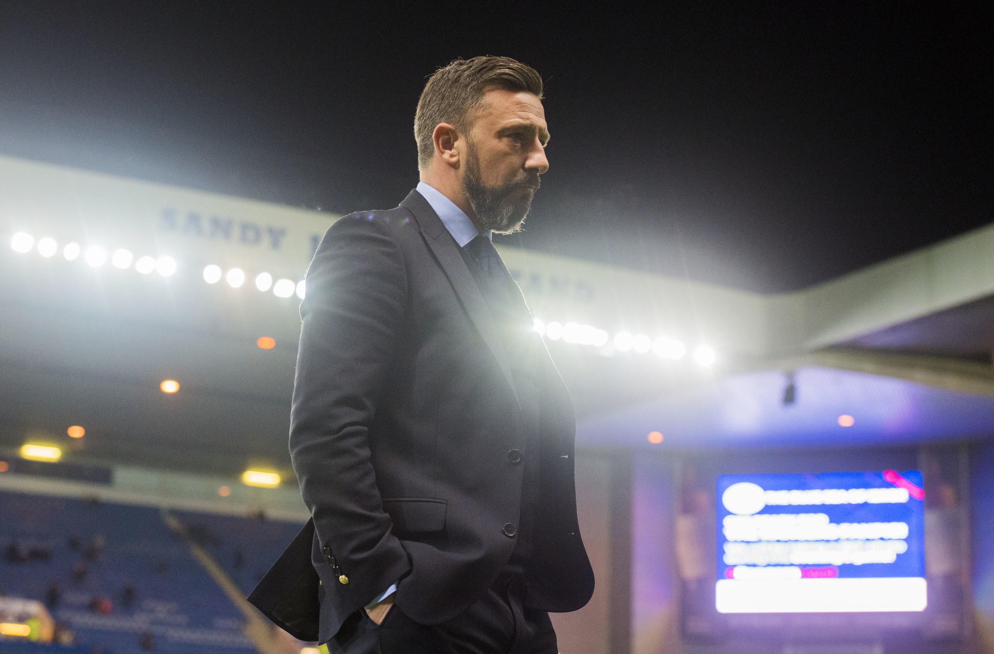 Aberdeen manager Derek McInnes (SNS Group / Alan Harvey)
