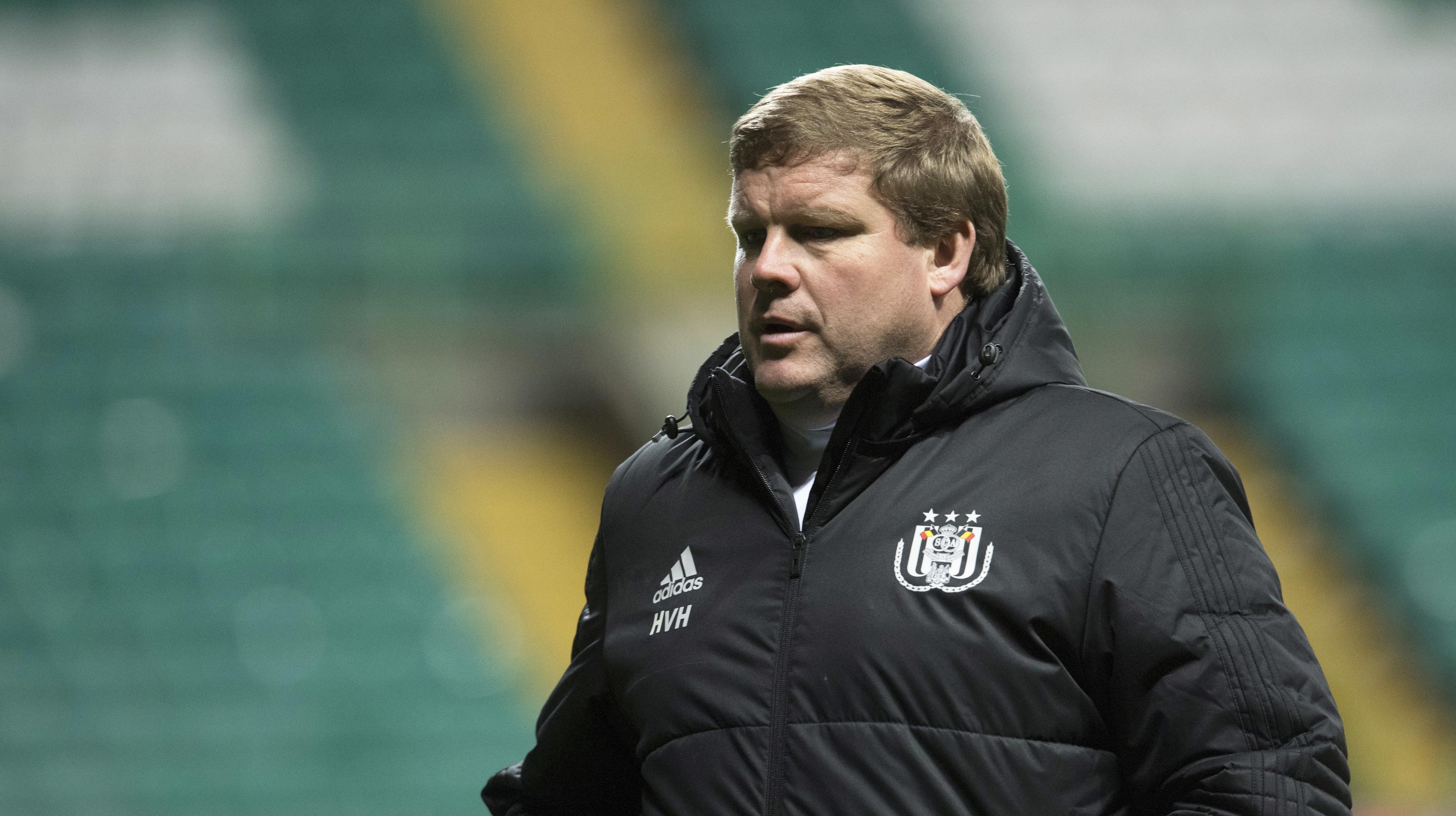 Anderlecht manager Hein Vanhaezebrouck (SNS Group / Craig Foy)
