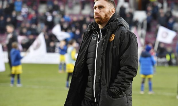 Motherwell's Louis Moult (SNS)