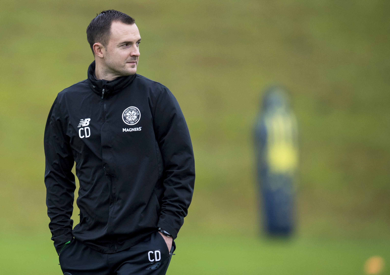 Celtic assistant manager Chris Davies (SNS Group / Craig Williamson)