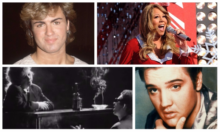 Wham!, Mariah Carey, The Pogues and Elvis all make our list