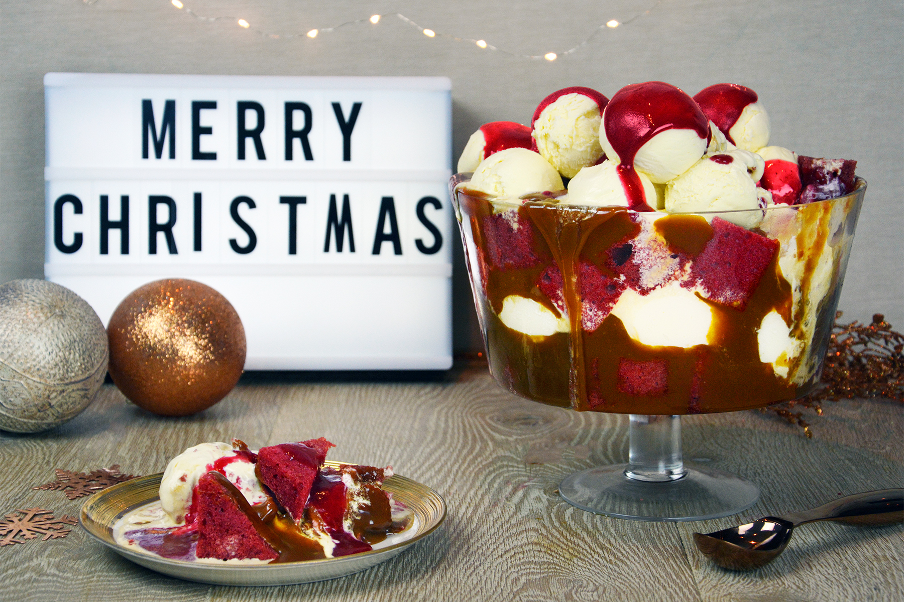Christmas Ice Cream Trifle (Kelly's Ice Cream)