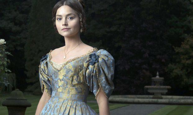 Jenna Coleman as Queen Victoria in ITV's drama series Victoria (ITV)