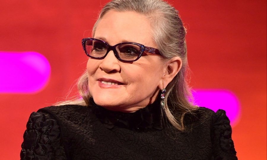 Carrie Fisher's dog perks up watching 'Star Wars: The Last Jedi'
