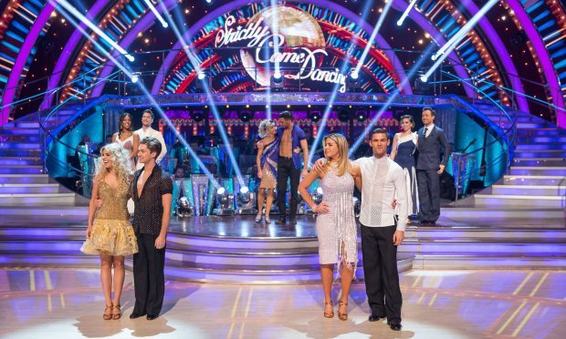 The Strictly Come Dancing final takes place this weekend (BBC/PA)
