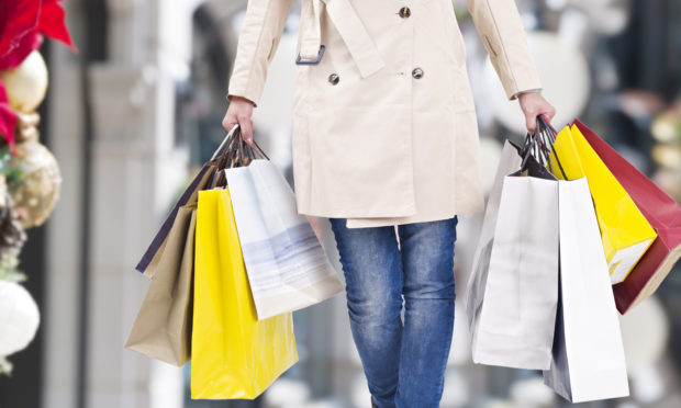 A third of Britons (34%) plan to go to the festive sales (iStock)
