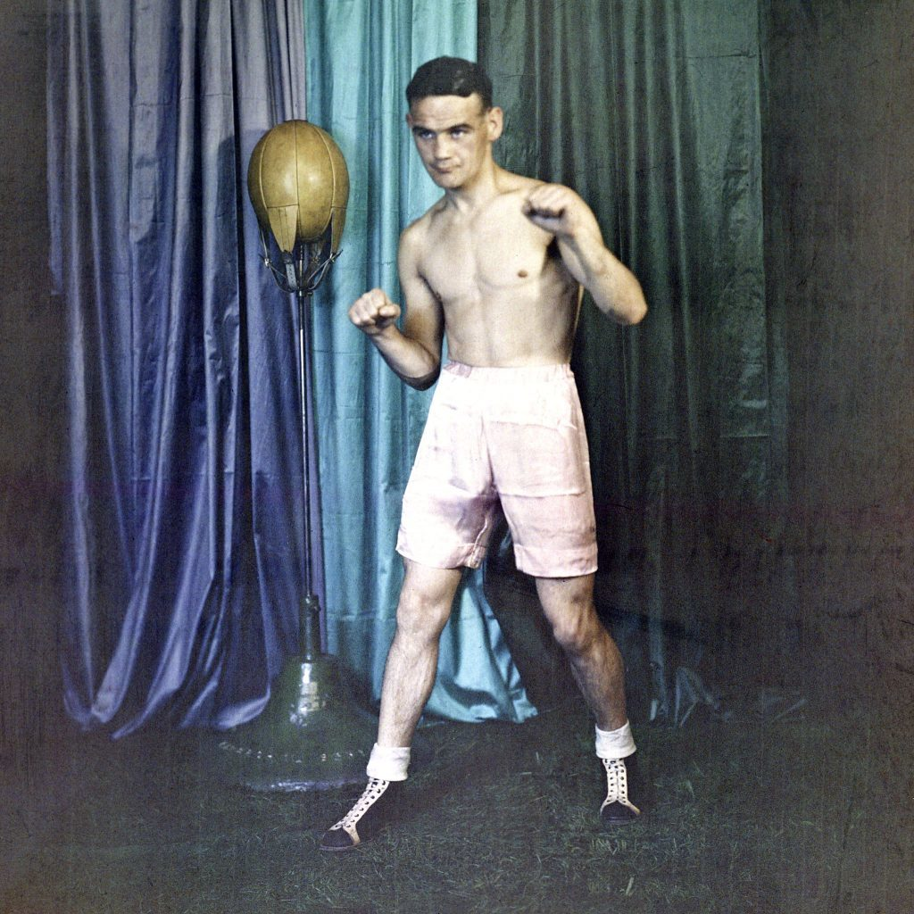 Boxer Benny Lynch (Graeme Finnan / SNS Group)