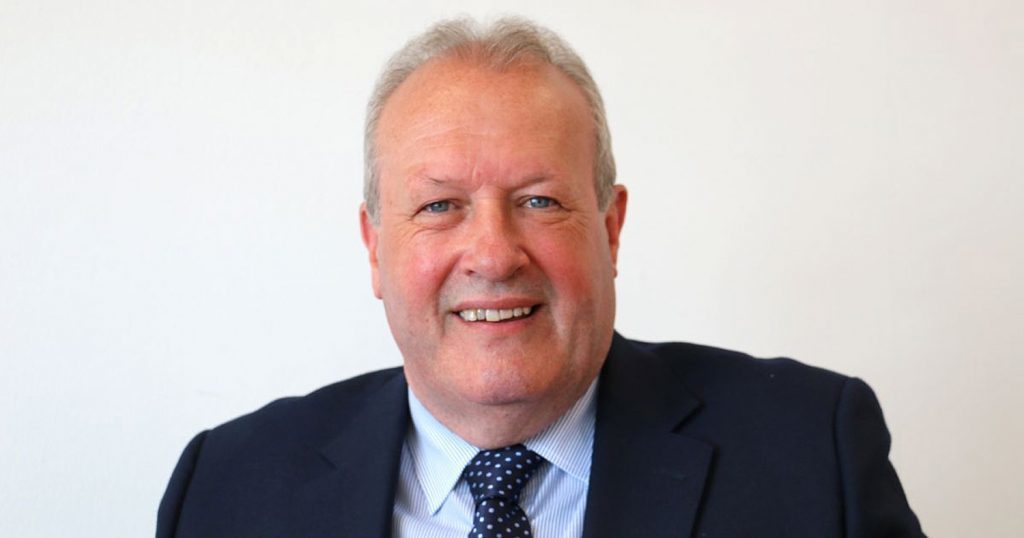 Ron Smith, managing director of Prestwick Airport