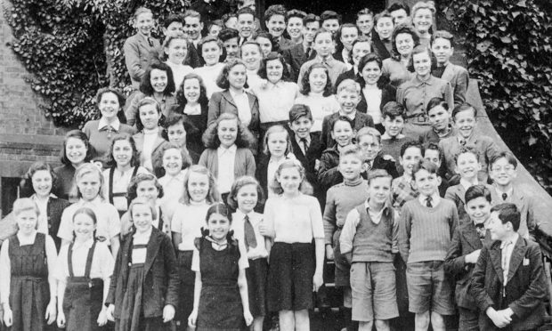 "Some of the many children saved by ""Britain's Schindler"" Sir Nicholas Winton in the 1930s"