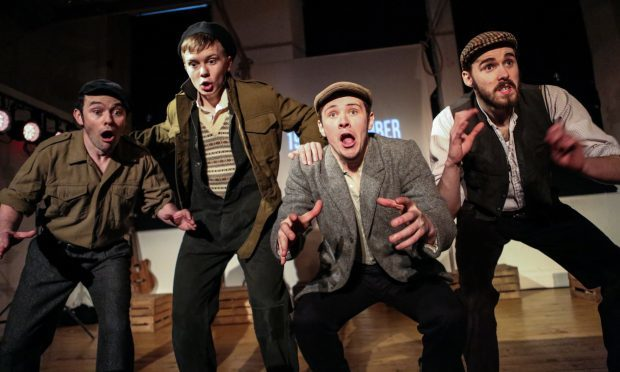 The cast of 549: Scots of the Spanish Civil War (Jassy Earl Photography )