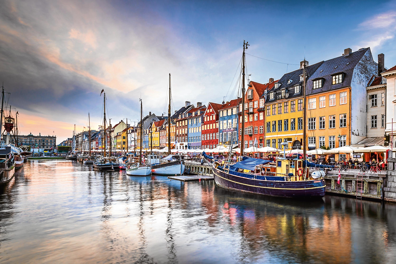 Copenhagen, Denmark on the Nyhavn Canal. (iStock)